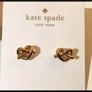 Kate Spade ♠️ Loves me Knot Stud Earrings R